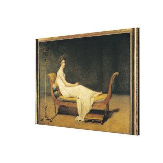Madame Recamier, 1800 Canvas Print