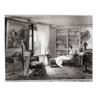 Madame Recamier at the Abbaye-aux-Bois Postcard