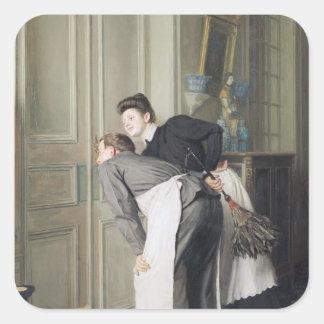 Madame Recoit, 1908 Square Sticker