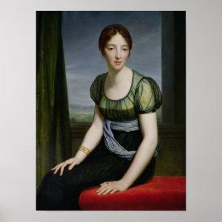 Madame Regnault de Saint-Jean d'Angely Poster