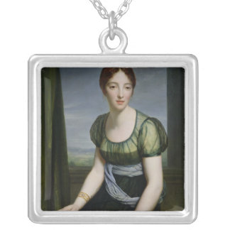 Madame Regnault de Saint-Jean d'Angely Silver Plated Necklace