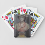 Madame Renoir, 1916 (polychrome plaster) Bicycle Playing Cards