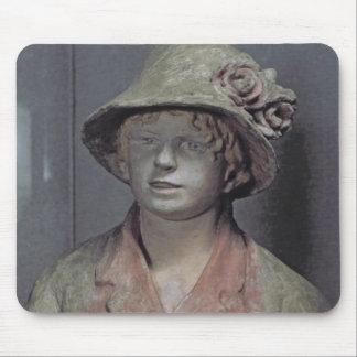 Madame Renoir, 1916 (polychrome plaster) Mouse Pad