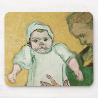 Madame Roulin and her baby, November 1888 Mouse Pad