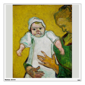 Madame Roulin with Baby by Vincent Van Gogh Wall Decals