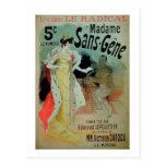 'Madame Sans-Gene' in Le Radical, by Edmond Lepell Postcard