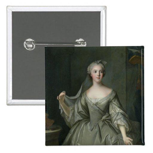 Madame Sophie de France  as a Vestal Virgin 2 Inch Square Button