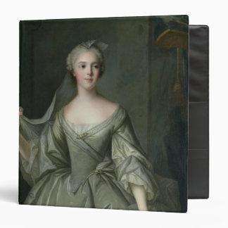 Madame Sophie de France  as a Vestal Virgin 3 Ring Binder
