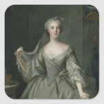 Madame Sophie de France  as a Vestal Virgin Square Sticker