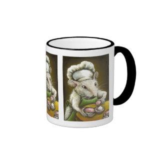 Madame Souris - une pâtissière Provençale Coffee Mugs