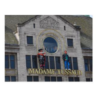 Madame Tussaud - Amsterdam Postcard