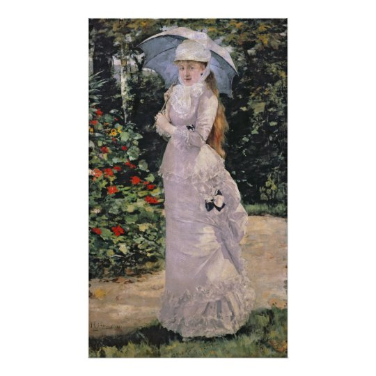 Madame Valtesse de la Bigne, 1889 Poster