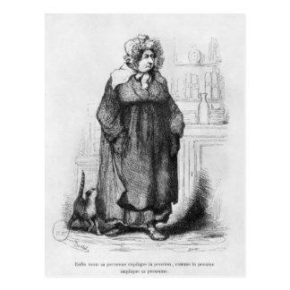 Madame Vauquer Postcard