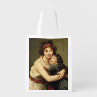 Madame Vigee-Lebrun and her Daughter 2 Grocery Bag