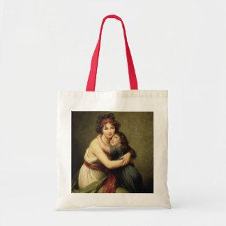Madame Vigee-Lebrun and her Daughter Tote Bag