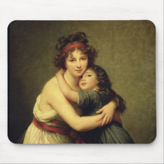 Madame Vigee-Lebrun and her Daughter Mouse Pads
