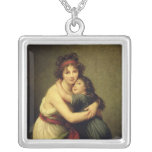 Madame Vigee-Lebrun and her Daughter Necklaces
