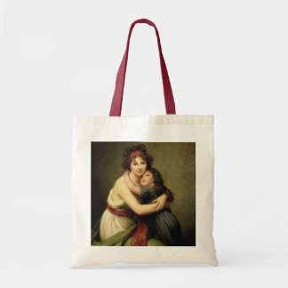 Madame Vigee-Lebrun and her Daughter Tote Bag