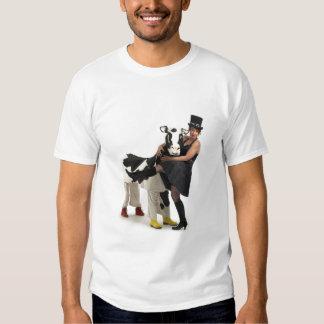 Madame Vinaigrette and Martiqua the Cow T-shirt