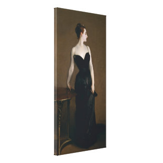 Madame X by John Singer Sargent Canvas Print