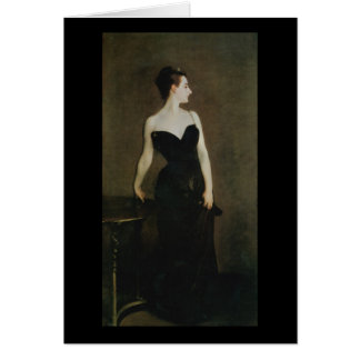 Madame X by John Singer Sargent Card