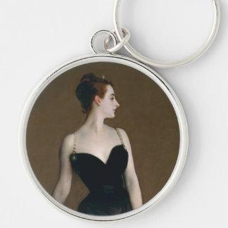 Madame X by John Singer Sargent Keychain