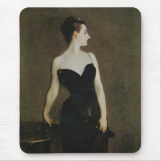 Madame X by John Singer Sargent Mouse Pad