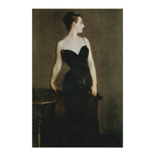 Madame X by John Singer Sargent Stationery