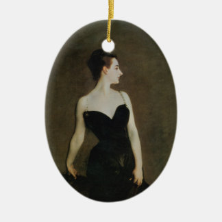 Madame X Ceramic Ornament