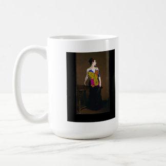 Madame X-X Classic White Coffee Mug