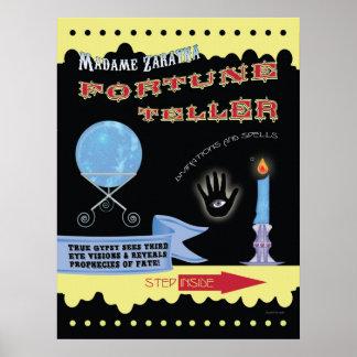 Madame Zarayna Fortune Teller Poster