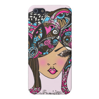 Madamoiselle Mimi Le Exquisite Girlie iPhone 4 Cover For iPhone SE/5/5s