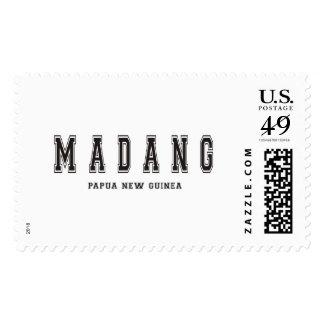 Madang Papua New Guinea Postage