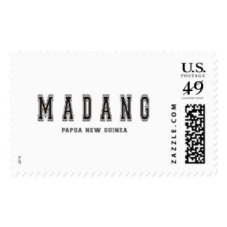Madang Papua New Guinea Postage Stamps