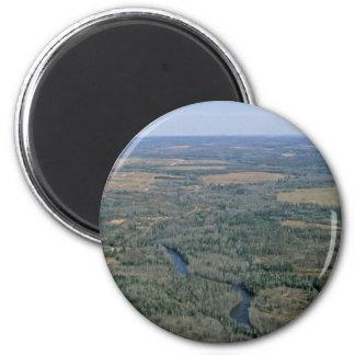 Madawaska River, Aroostook National Wildlife Refug Magnet