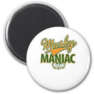 MadBadger MUSKY 2 Inch Round Magnet