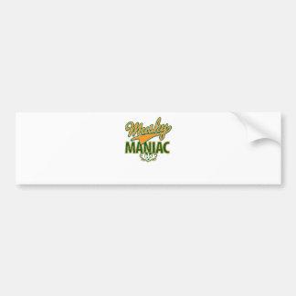 MadBadger MUSKY Bumper Sticker