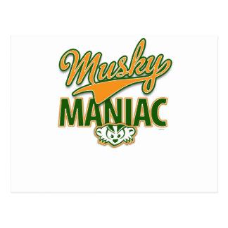 MadBadger MUSKY Postcard