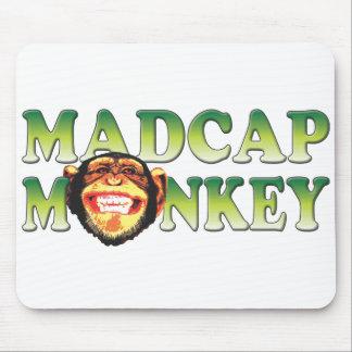 Madcap Monkey Mouse Pad
