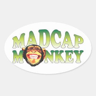 Madcap Monkey Stickers