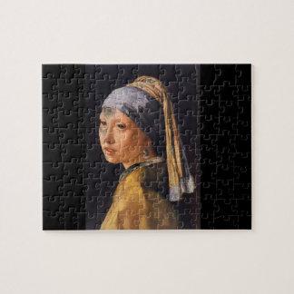 Madchen Mit Perle', Jan_Dutch Masters Jigsaw Puzzle