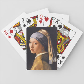 Madchen Mit Perle', Jan_Dutch Masters Playing Cards