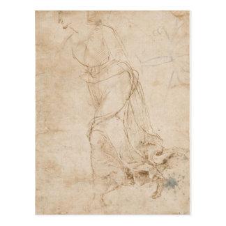 maddalena che sopragiunge in fretta by Raffaello Postcard