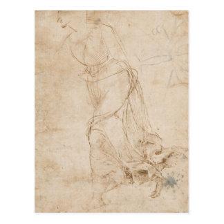 maddalena che sopragiunge in fretta by Raffaello Post Card
