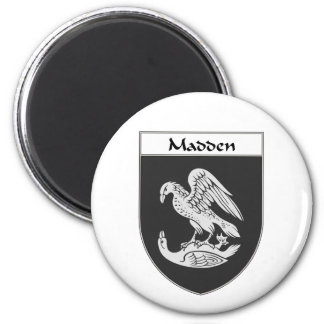 Madden Coat of Arms/Family Crest Fridge Magnets