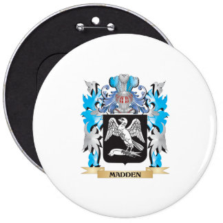 Madden Coat of Arms - Family Crest Pinback Buttons