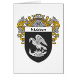 Madden Coat of Arms (Mantled) Card