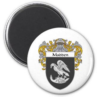 Madden Coat of Arms (Mantled) Fridge Magnet