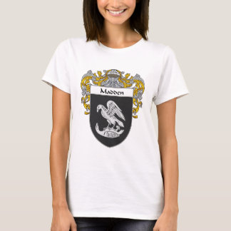 Madden Coat of Arms (Mantled) T-Shirt