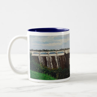 Madden Dam Two-Tone Coffee Mug